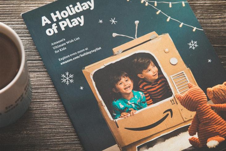 Quand le géant du Web passe par l'imprimeur pour son catalogue de Noël